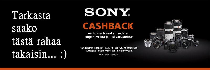 Sony 3-vuoden takuu