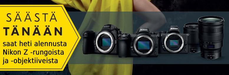 Nikon Z kesäkamppis