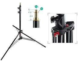 Manfrotto 1052BAC Air studiojalusta (light stand) 101-237cm