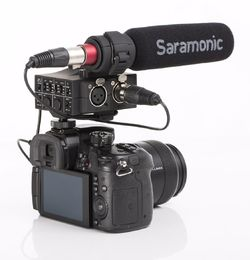 Saramonic MixMic Audio Adapter Kit + SR-NV5 Mikrofoni