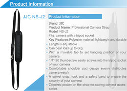 JJC NS-J2 Quick Camera Strap