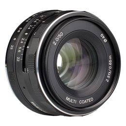 Meike 50mm F/2.0 APS-C, Sony E-mount