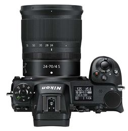 Nikon Z7 Z-mount +  24-70mm f/4 + adapter