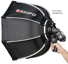 Triopo Speedbox Deep Octa for Speedlight (käsisalama)
