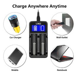 Li-ion Universal Intelligent Charger with LCD