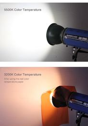 Accpro Studio Orange CTO / Full / Half / 1/4  Color Filter Set noin 40 x 60cm