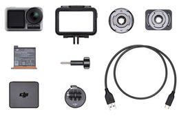 DJI Osmo Action +128GB Kingston MicroSD 100Mb/s