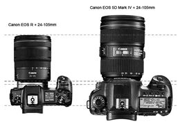 Canon EOS R + Canon RF 24-105mm F4 L IS USM +  EF-EOS R mount adapter
