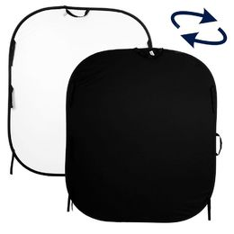 Lastolite Plain Collapsible Reversible 1.5 x 1.8m (black/white)