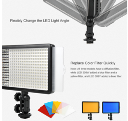 Godox LED308C Dual Color LED-paneeli, 308 x LED