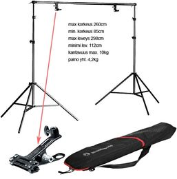 Manfrotto 1314B Light stand background kit