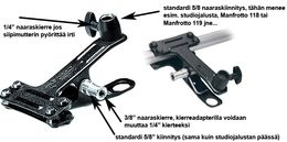 Manfrotto 175 Spring Clamp (Jousipuristin)