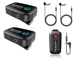 SARAMONIC BLINK 500 B2 (TX+TX+RX) 1 TO 1 - 2,4 GHZ WI (3,5 mm mic port)