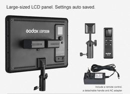 UUSI! Godox / Quadralite Edge-LED Video Light LEDP260C + remote