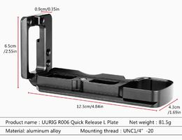 UURig R006 Quick Release L Plate for Sony A6400