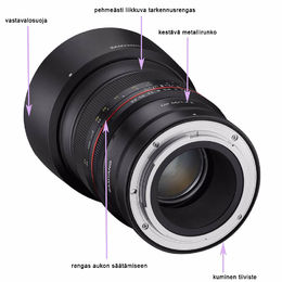 Samyang MF 85 mm f/1.4 Z (Nikon Z-mount)