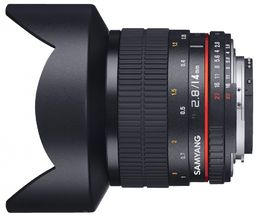 Samyang 14mm f/2.8 IF ED UMC Aspherical AE, CANON
