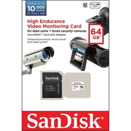 Sandisk 64GB High Endurance Video Monitoring Card