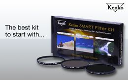 Kenko SMART Slim Filter Kit (Protector, CPL, ND8 + kotelo)