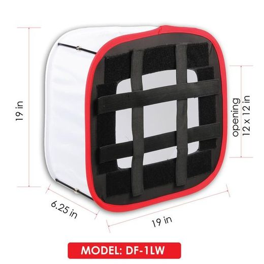 D-Fuse DF-1LW White Softbox LED-paneelille