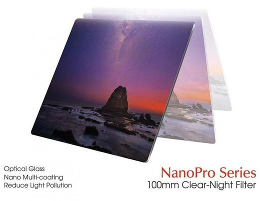 Haida Optical Class Clear Night Filter 100 x 100mm Valosaastesuodin