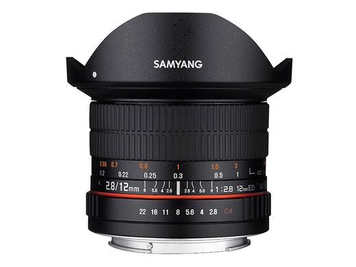 Samyang 12mm F2.8 ED AS NCS Fish-eye, MFT