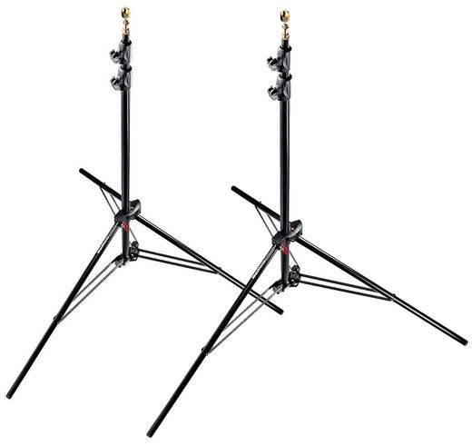 2 kpl setti Manfrotto 1052BAC Air studiojalusta 101-237cm