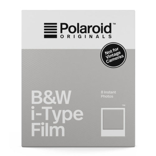 Polaroid Originals B&W Film for I-TYPE (OneStep 2) ‐pikafilmi 8kpl