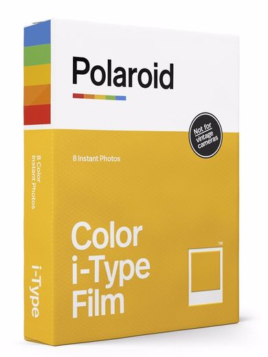Polaroid Color Film for I-TYPE ‐pikafilmi 8kpl