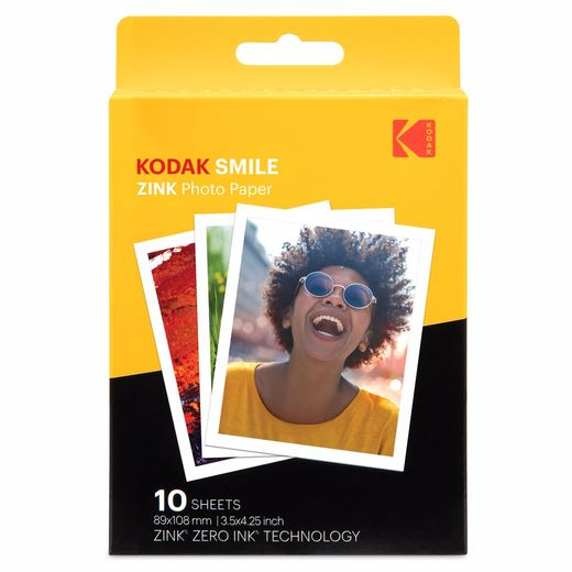 "Kodak ZINK Photo Paper 3.5""x 4.25"""