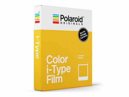 Polaroid Originals Color Film for I-TYPE (OneStep 2) ‐pikafilmi 8kpl