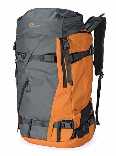 Lowepro Powder BP 500 AW kamerareppu, Grey/Orange