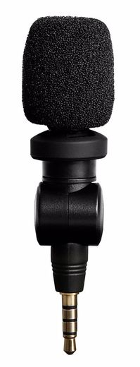 Saramonic SmartMic for  iPhone / iPad / Android  (TRRS)