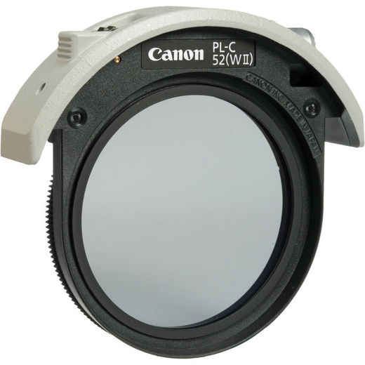 Canon PL-C52 (WII) Drop-in Filter (CPL)