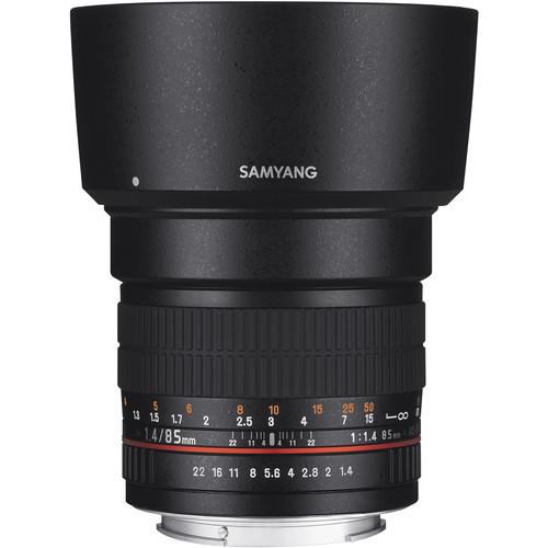 Samyang 85mm f/1.4 AS IF UMC, MFT