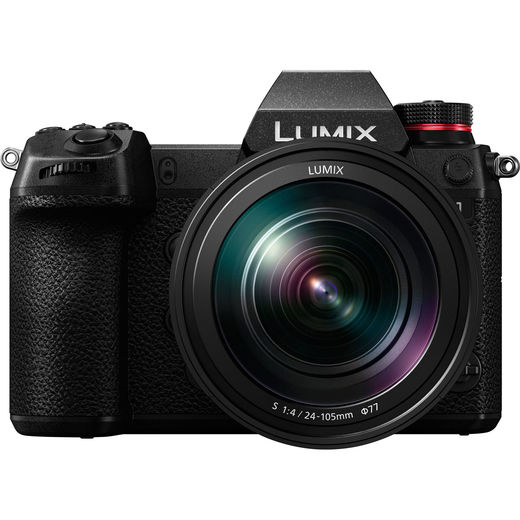 Panasonic Lumix DC-S1 Mirrorless + 24-105mm F4 + V-LOG  (DMW-SFU2)