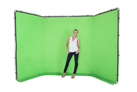 Lastolite 7622 Panoramic Background 4m Chromakey Green