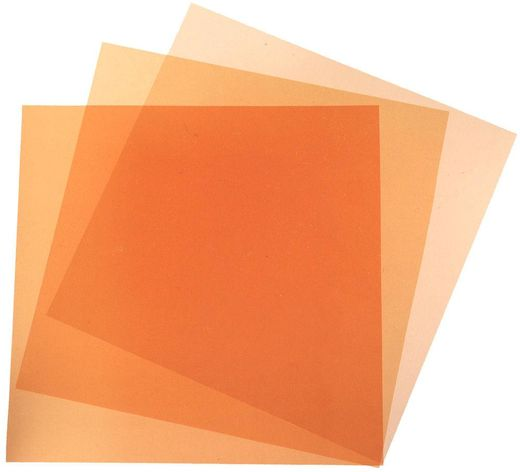 Accpro Studio Orange CTO / Full / Half / 1/4  Color Filter Set noin 40 x 50cm