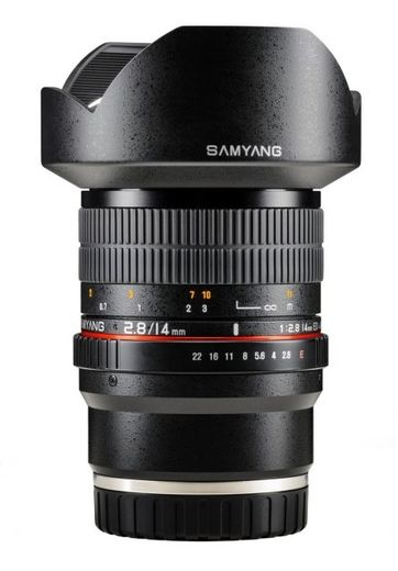 Samyang 14mm f/2.8 IF ED UMC Aspherical, Sony E