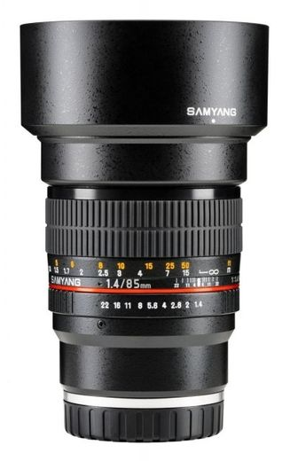 Samyang 85mm f/1.4 IF MC, Sony E