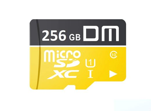DM Ultra microSDXC 256GB micro SDXC UHS-I Class10 + SD-adapter