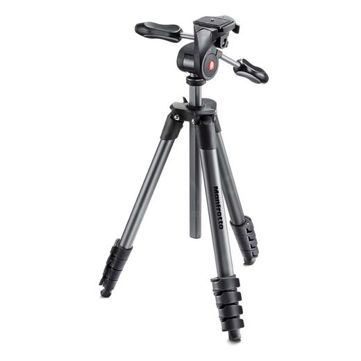 Manfrotto Compact Advanced jalusta + 3W kamerapää