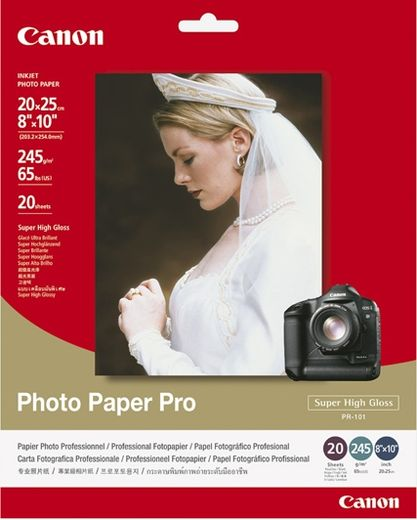 Canon PR-101 Photo Paper Pro Super High Gloss, 20kpl
