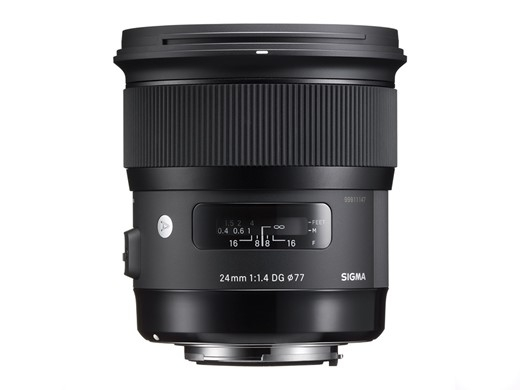 Sigma 24mm F1.4 DG Art Series HSM, Canon