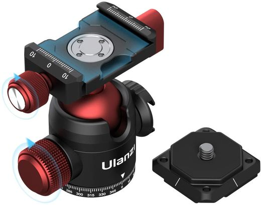 Ulanzi U-70 Pano Vlog Ball Head
