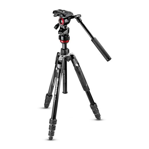 Manfrotto Befree ADVANCED LIVE Twist Alu (MVKBFRT-LIVE) - Kompakti videojalustasetti