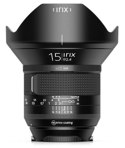 Irix 15mm f/2.4 Blackstone, Canon