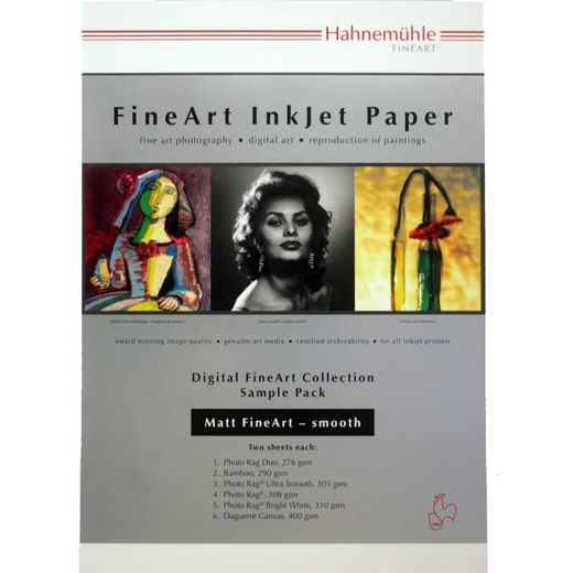 Hahnemühle Fine Art Photo Inkjet Sample pack