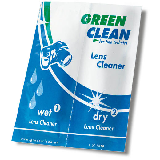 10 kpl Green Clean WET + DRY 2-in-1 Lens Cleaner LC-7010-10