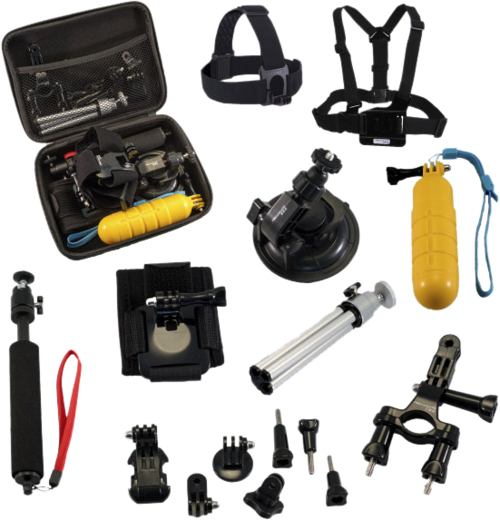 Pro-Mounts Action Accessory Kit (GoPro/Osmo Action jne)